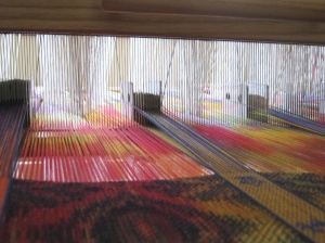"""At The Theatre"" on the loom"